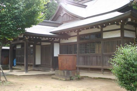 Dojo au sanctuaire de Kashima. source : https://commons.wikimedia.org/wiki/File:Kashimadojo.jpg